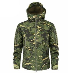 Chinese  Clothing Autumn Men 'S Military Camouflage Fleece Jacket Army Tactical Clothing Multicam Male Camouflage Windbreakers Male manufacturers
