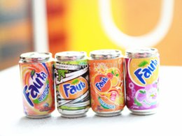 Wholesale 1 Cute Dollhouse Miniature MINI cans beverage soft drink
