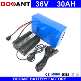 Motor Bicycles Australia - BOOANT E-Bike Scooter Battery pack 18650 cell 36V 30AH For Bafang 1500W Motor Electric Bicycle EU US Free Customs With 50A BMS