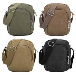 $enCountryForm.capitalKeyWord NZ - Men Canvas Shoulder Bag Zipper Casual Crossbody Bags for Male Messenger Bag Vintage Men Canvas Handbag Travel Messenger Bags Hot