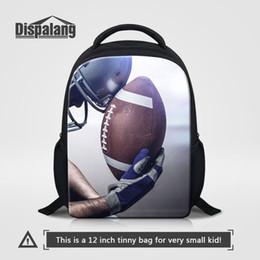 $enCountryForm.capitalKeyWord Canada - Kids Small School Backpack Rugbyball Footballs Pattern Boys Kindergarten Bagpacks Baby Outdoors Rucksack Toddler Daily Daypacks