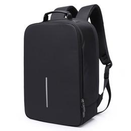 Men Anti Theft Backpack 15.6 Laptop Computer Backpack School Bags for Boys  Black Travel Waterproof Bag Pack daf1ac3089f1d