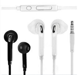 Discount s6 earphones packages - Premium Stereo Quality J5 S6 Headset For Samsung S7 S6 S6 Edge Earphone Earbud Headset Headphones 3.5mm Non Packaging