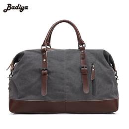 Functional Trendy Designer Handbags High Quality Men s Travel Bag Male  Large Capacity Cylindrical Vintage Suitcase Shoulder Bag 6c218ecd055ed