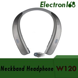 lg tone wireless headphones Australia - HBS W120 Bluetooth Wireless Headphones Top Quality CSR 4.1 Neckband Sports Earphones Headsets With Mic Speakers Newest Arrival For LG TONE