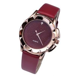 China Wrist Bracelet Watches For Women Starry sky PU Leather Quartz Watches Men Minimalist Wristwatches Clock cheap minimalist watches men suppliers
