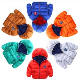 China Kids warm Coats Boys Girls Winter Autumn Clothing Childrens Hoodies Baby down Jackets infant Outwear infant outwear jackets suppliers