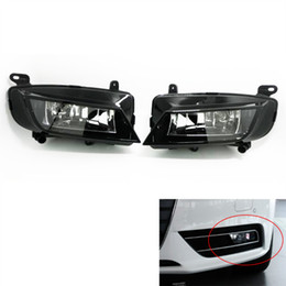 Audi H1 Australia - For Audi A4 B9 2012~2015 Auto Fog Light Lamp Car Front Bumper Grille Driving Lamps Fog Lights Set Kit 8k0941699B   8k0941700B