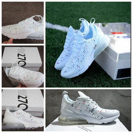 1af188b4594a9 2018 Air World Cup champion France 270 Running shoes two 2 star 27C Limited  Edition Triple 270S Men Women Trainer Sports sneakers 36-45