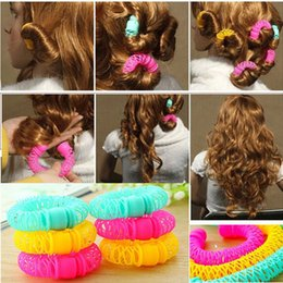 RolleR tool foR haiR online shopping - 8 New Magic Donuts Hair Styling Roller Hairdress Magic Bendy Curler Spiral Curls DIY Tool For Woman Hair Accessories