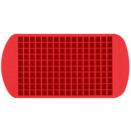 $enCountryForm.capitalKeyWord UK - Fashion Silicone Ice Maker Mold Mini Square Shape 1cm Silica Gel 160 Grid Cube Tray Molds Ice Chocolate Baking lin3844