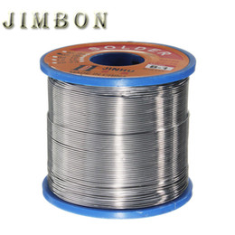 $enCountryForm.capitalKeyWord NZ - JimBon 400g 0.5mm 60 40 Tin Lead Line Rosin Core Flux Solder Welding Iron Wire Reel for Soldering Tools Free Shipping