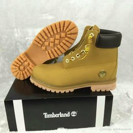 300bd651696e Timber Shoes Canada - Cheap fashional Men women Timber 6 inch  Mountaineering wheat shoes hiking Trainers