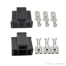 $enCountryForm.capitalKeyWord NZ - 10 pcs Car Motorcycle H4 HB2 9003 Waterproof DIY Male Female Quick Adapter Connector Terminals Plug Kit #3917