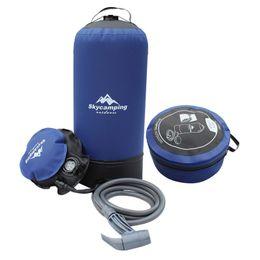 $enCountryForm.capitalKeyWord UK - 11L Outdoor Pvc Inflatable Shower Bucket,Foot Pressure Shower Water Bag,Portable Camp Shower,Foldable Car Wash Watering Flower