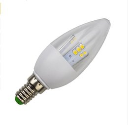 Candle light bulbs for Chandeliers online shopping - New dimming Led Light Bulbs E12 E14 E27 B15 B22 SMD W led candle light bulb lamp white warm AC110 V for chandelier LLFA