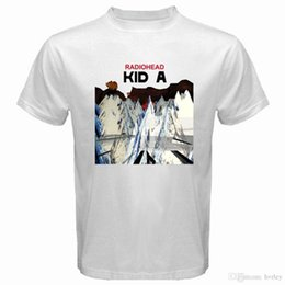 3e989bc6c9459 2018 Best T Shirts New RADIOHEAD KID A Ro Band Loo Men s White T-Shirt Size  S to 3XL Funny Cotton Short Sleeve Shirts For Men