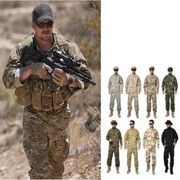 $enCountryForm.capitalKeyWord NZ - MULTICAM Uniform ACU Camouflage Clothing Suits for Hunting Fishing Paintball High quality Outdoor Plus Size XS-XXL
