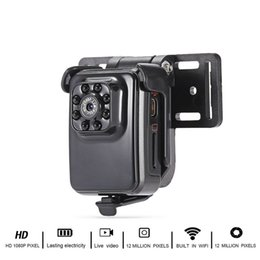 Discount mini nanny cams - Mini WiFi Camera Wireless Small Camera 1080P HD Portable Sports Camera with IR Night Vision Digital Video Recorder Nanny