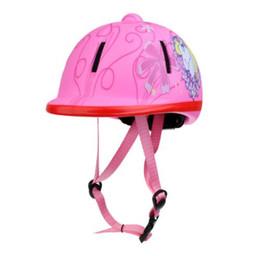 Прочный Дети Дети Регулируемая Верховая Езда Шляпа/Шлем Головы Защитное Снаряжение Профессиональный Шлем Спорт На Открытом Воздухе Оборудование на Распродаже