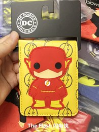 Korean cool girls online shopping - DC Comics The flash Wallet Leather Pu Bifold For Teenager Boys Girls cool Gift