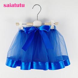 $enCountryForm.capitalKeyWord Australia - Royal blue Fashion Baby Girls Tutu Skirts Princess pettiskirt ballet dance tutu skirt Kids party costume Chlidren clothing