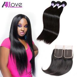 Great hair weaves online shopping - Cheap A Brazilian Hair Bundles Indian Virgin Hair Wefts Great Quality Human Hair Weave Peruvian Silky Straight Bundles With Closure