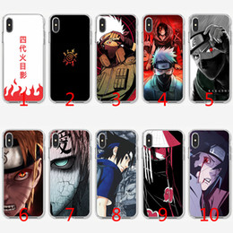 0abb38d1bf8 Naruto Kakashi Soft Silicone TPU Case for iPhone X XS Max XR 8 7 Plus 6 6s  Plus 5 5s SE Cover