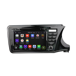 $enCountryForm.capitalKeyWord UK - Car DVD player for Honda CITY 2015 right driving 9inch Octa-core 2GB RAM Andriod 6.0 with GPS,Steering Wheel Control,Bluetooth,Radio