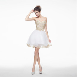 b6380f1f854 Vestido De Baile De Formatura Branco On-line