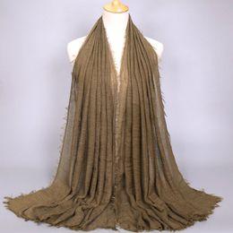 $enCountryForm.capitalKeyWord NZ - 15 colors Muslim Hijab Womens Hijab Ninja Underscarf Head Islamic Cover Bonnet Hat Cap Scarf 190cm Length Cotton Scarf