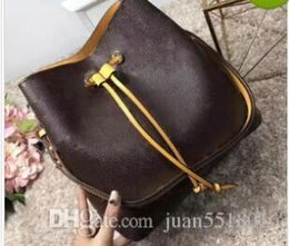 shoulder bags Noé leather bucket bag women famous brands designer handbags  high quality flower printing crossbody bag purse TWIST 948c81a6d1bdd