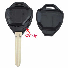 $enCountryForm.capitalKeyWord Australia - 2Buttons Car Remote Key Shell Case Replacement For Toyota Corolla Prado Yaris Camry RAVMhz Chip