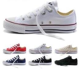 NEW size35-45 Neue Unisex Low-Top High-Top Erwachsenen Frauen männer stern Segeltuchschuhe 15 farben Geschnürt Up Freizeitschuhe Sneaker schuhe im Angebot