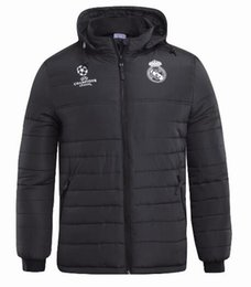 041dc6ca3c5 2018 19 Real Madrid jacket Plus Thick MODRIC ASENSIO VINICIUS JR ISCO Long  Sleeve Soccer Thick Suit Zipper Tracksuit Winter Warm Hoodie