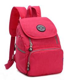 $enCountryForm.capitalKeyWord UK - Leopard Printing Brand Nylon Backpack For Teenage Girls Women School Bags Casual Travel Waterproof Rucksack