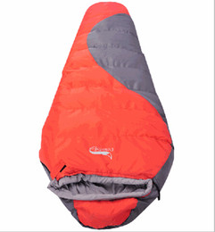Weather Bags Australia - Dropshipping new arrival adult Professional Winter Outdoor cotton Thickening -10 Degree camping hiking mummy sleeping bag