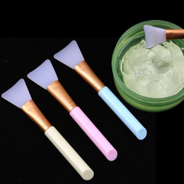 plastic face mask beauty UK - Silicone Makeup Brushes Mask Brush 1PCS DIY Facial Face Mask Mud Mixing Tool Skin Care Beauty Foundation Professional Make Up Tools