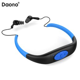 waterproof swimming sport mp3 player NZ - 8GB Waterproof MP3 Music Player Underwater Swim Surfing Diving Neckband Sports Stereo Earphone Spa Surf Scuba Handsfree FM Radio