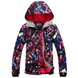 L Jackets NZ - GSOU SNOW Single Board Women's Ski Suit Windproof Waterproof Breathable Wear-resistant Warm Ski Jacket For Women Size XS-L