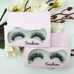 Discount ups labels Private Label Long Thick Black Natural False Eyelashes Handmade Fake 3D Mink Eye Lashes Eyelashes Extension Eye Lash Mak