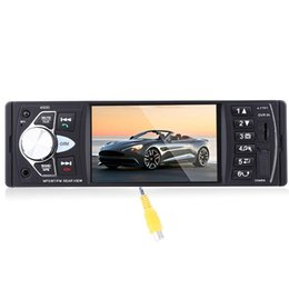 Chinese  1Din Car Radio MP4 Player 4.1 Inch Car MP3 MP5 Player Bluetooth FM Stereo Auto Audio With Rear View Camera Steering-wheel +B manufacturers