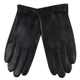$enCountryForm.capitalKeyWord Australia - Touchscreen Man Gloves Keep Warm Winter Leather Gloves Warm Thin Velvet Lined Windproof Waterproof Genuine Sheepskin M17012NC-9
