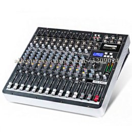 sound stage equipment 2019 - High Power Mixer with 12 Channel Mixer Amplifiers with Effect Digital DJ Karaoke Stage Wedding Music Sound USB Equipment