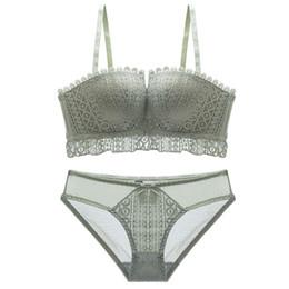 91925e72f6 Orange lace bra underwear online shopping - Fashion Lace Sexy Bra Set For  Women Push Up