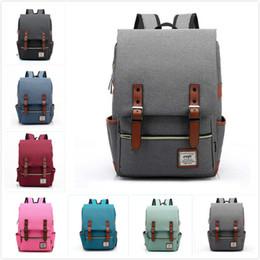$enCountryForm.capitalKeyWord Canada - Fashion Canvas Daily Backpacks for Laptop Large Capacity Computer Bag Casual Student School Bag packs Travel Rucksacks