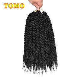 "$enCountryForm.capitalKeyWord NZ - TOMO Senegalese Twist 12"" 18""Ombre Braiding Hair Extensions Kanekalon Synthetic Hair Braided Hair Bluk For Black White Women 12 roots pack"