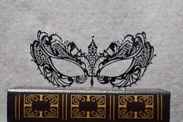 $enCountryForm.capitalKeyWord Australia - Metal black Masquerade Mask for Carnival Halloween Set auger Venetian mask Half Face Ball Party Masks Festive Party Supplies cosplay mask 19