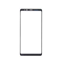 $enCountryForm.capitalKeyWord UK - 10PCS Original Black Silver Front Outer Touch Screen Glass Lens Replacement for Samsung Galaxy Note 8 N950A N950F free DHL