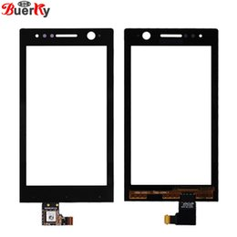sony xperia l NZ - For Sony Xperia Neo L MT25i Touch Screen Touch panel Digitizer Sensor Glass free shipping